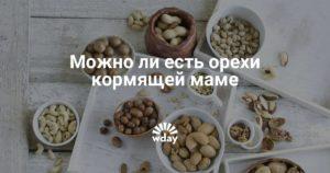 Сколько в день можно есть грецких орехов кормящей маме