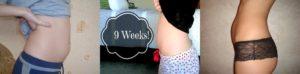Живот при беременности на 9 неделе очень вырос