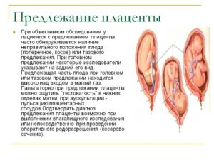 Предлежание плаценты на 32 неделе беременности
