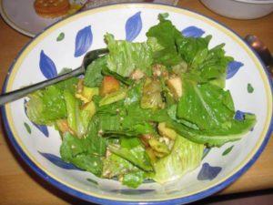 Салат для кормящей мамы в первый месяц