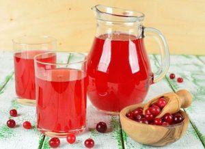 Клюквенный морс рецепт из замороженных ягод для детей