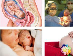 Срок беременности 40 недель