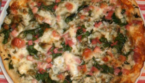Пицца для кормящей мамы