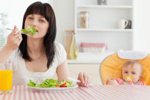 Как похудеть при кормлении грудного ребенка