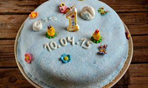Рецепт торта для ребенка 1 год