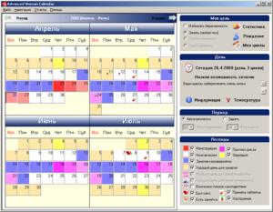 Календарь овуляции для зачатия девочки