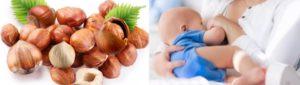 Какие орехи можно кормящей маме в первый месяц