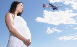 Перелет во время беременности 2 триместр