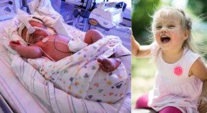 Родила на 34 неделе беременности