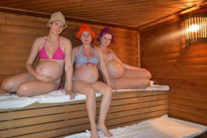 Баня при беременности во втором триместре