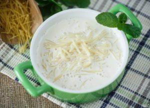 Молочный суп с вермишелью для ребенка рецепт