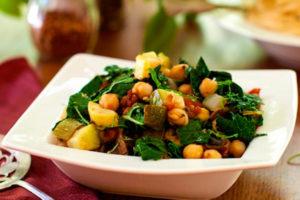 Овощное рагу для кормящей мамы рецепт
