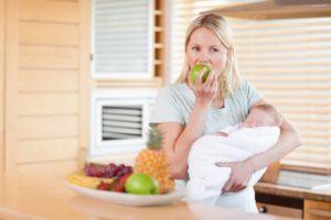 Клубника кормящей маме
