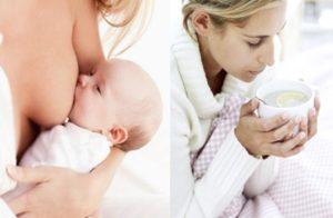 Лечение простуды у кормящей мамы