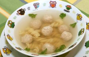 Фрикадельки для ребенка 1 год рецепты