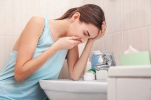 Токсикоз на первой неделе беременности