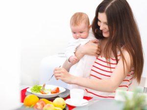 Диета для похудения при кормлении грудного ребенка
