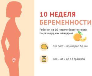 Простуда на 10 неделе беременности последствия