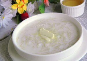 Молочная вермишель для детей рецепт