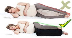Безопасные позы для беременных в третьем триместре