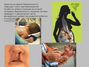 Курение на 25 неделе беременности