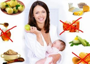 Похудеть кормящей маме