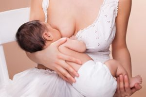 Грудь после кормления ребенка