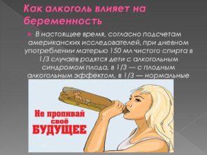 Алкоголь на 3 неделе беременности