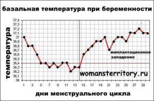 На 21 неделе беременности температура