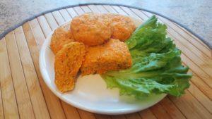 Котлеты морковные для детей рецепт