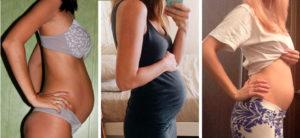 Грудь на 18 неделе беременности