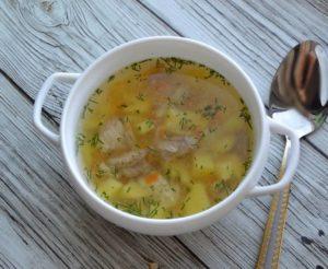 Суп из индейки рецепты для детей