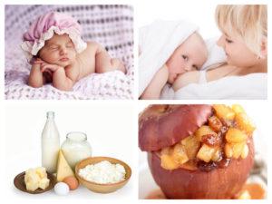 Питание кормящей мамы в первый месяц при коликах