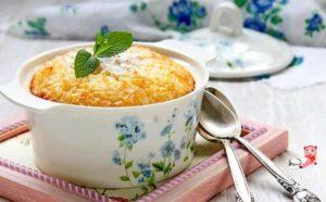 Пудинг рисовый рецепт для детей