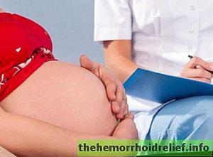 Геморрой на 39 неделе беременности лечение