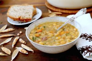 Гороховый суп для ребенка 1 года рецепты
