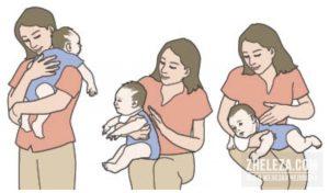 Сколько держать ребенка столбиком после кормления