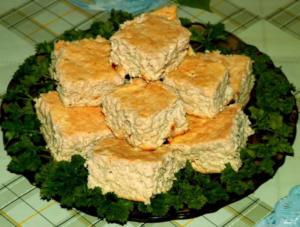 Мясное суфле для детей рецепт