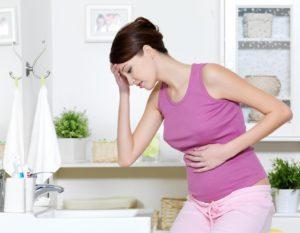 Изжога в первом триместре беременности