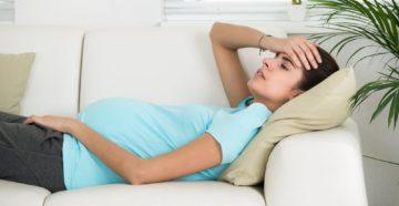 Болит голова на 12 неделе беременности