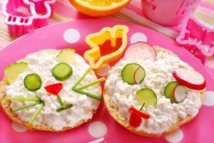 Завтрак для детей 2 лет рецепты