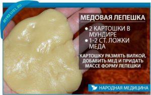 Медовая лепешка от кашля рецепт для детей