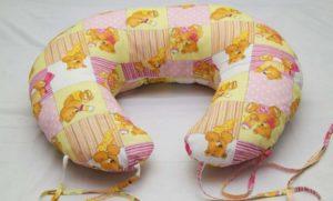 Подушка для кормления грудного ребенка своими руками