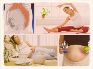 Запор в первом триместре беременности
