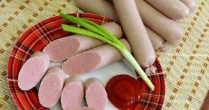 Домашние сосиски для детей рецепт