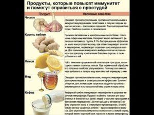Как поднять иммунитет кормящей маме народными средствами